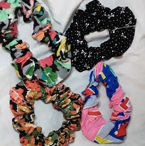 Individually Wrapped Retro Scrunchies